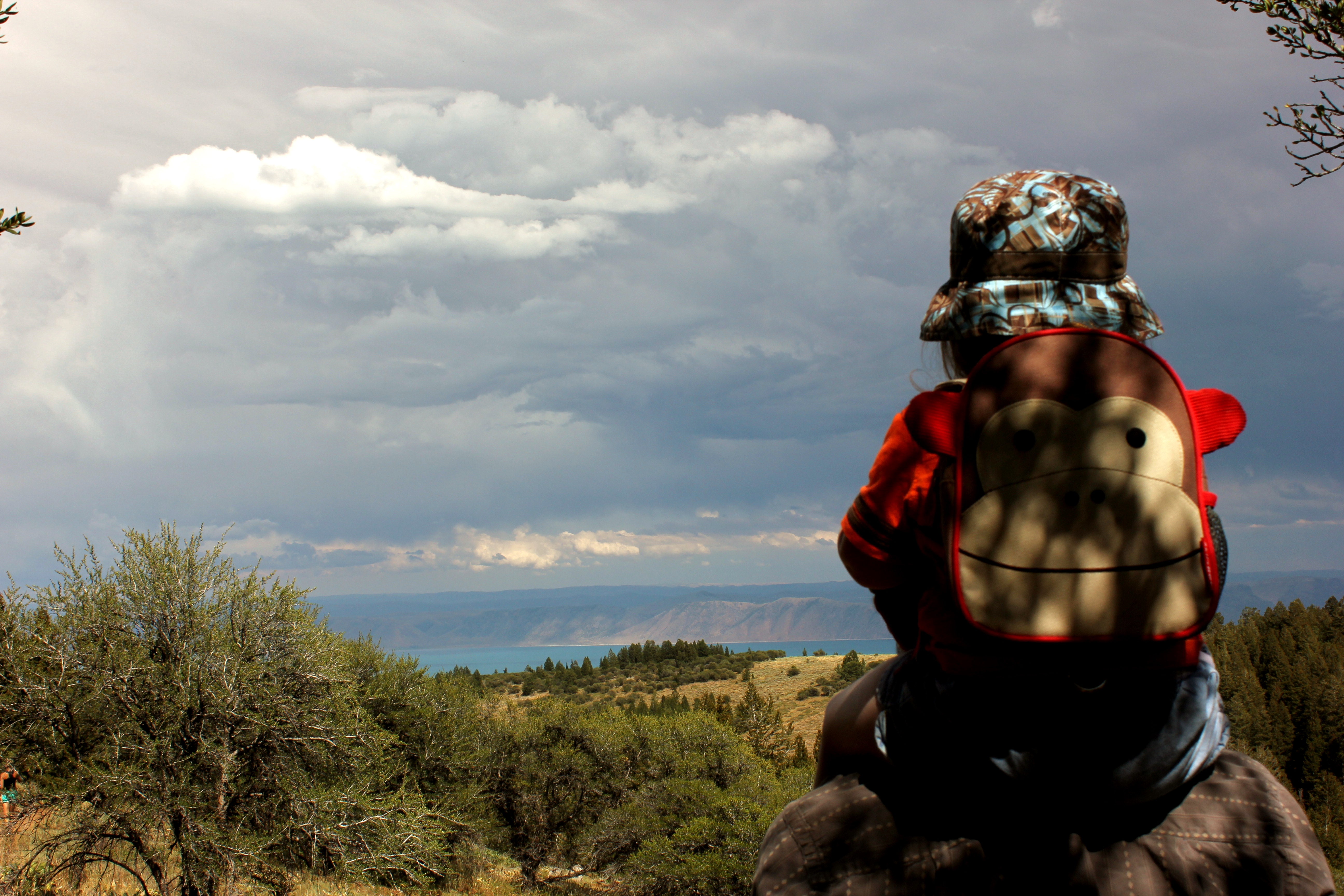 A hiking parent's dilemma: Longing for longer hikes.