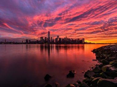 NYC Fire Sky