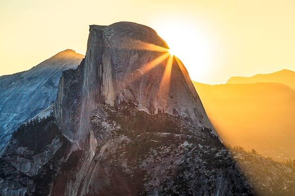 Yosemite Half Dome Sunrise