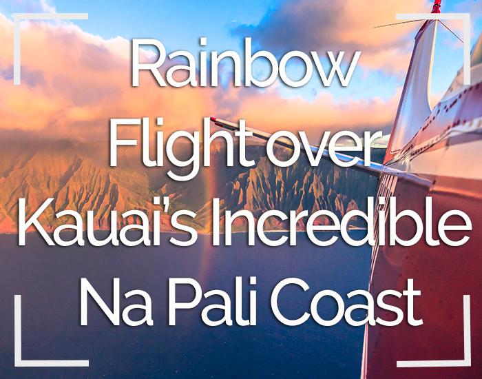 Rainbow Flight Kauai Hawaii