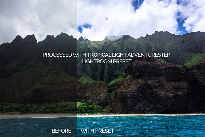 Tropical Light Adventurestep Preset
