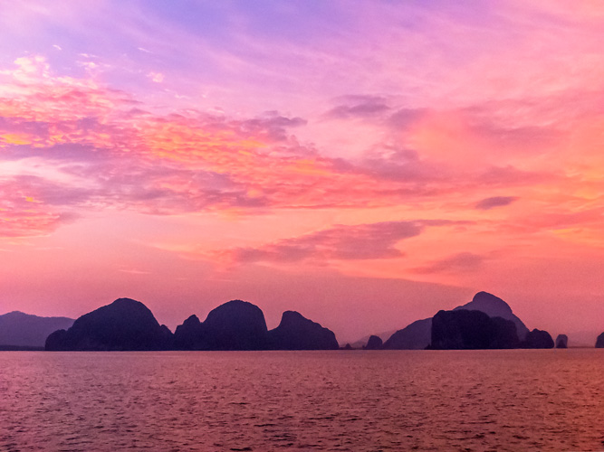 Hong Island Sunset