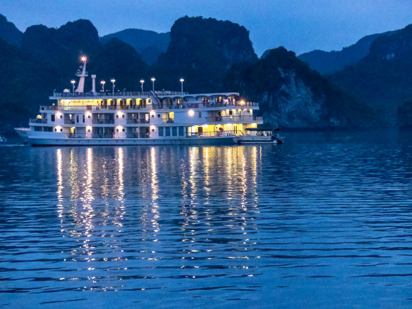 Halong Bay Nightfall