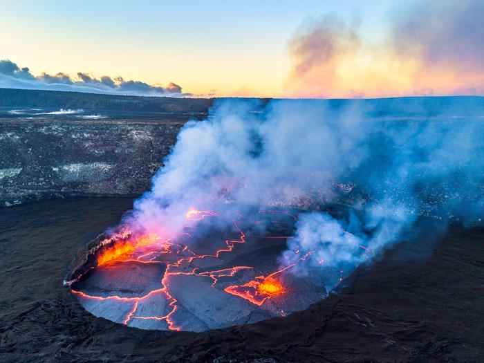 Volcano Caldera Hawaii