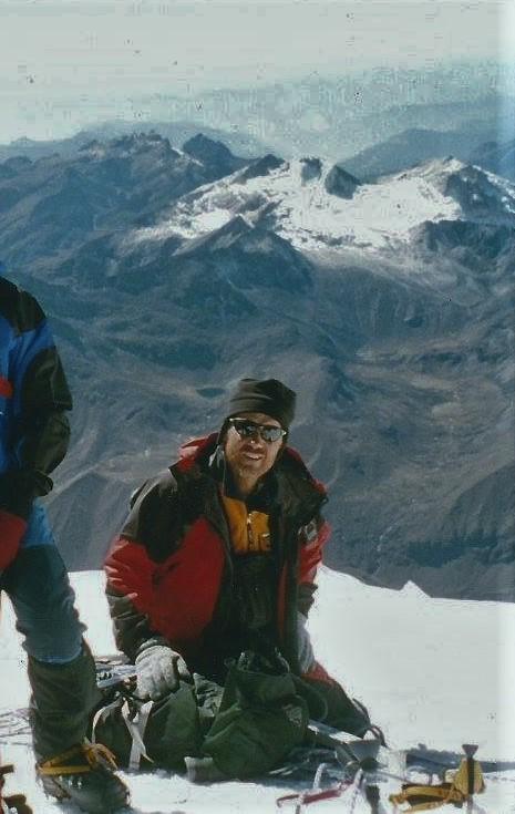 The summit of Huayna Potosi.
