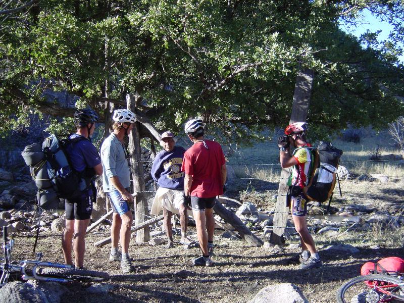 Mountain biking the Silver Trail