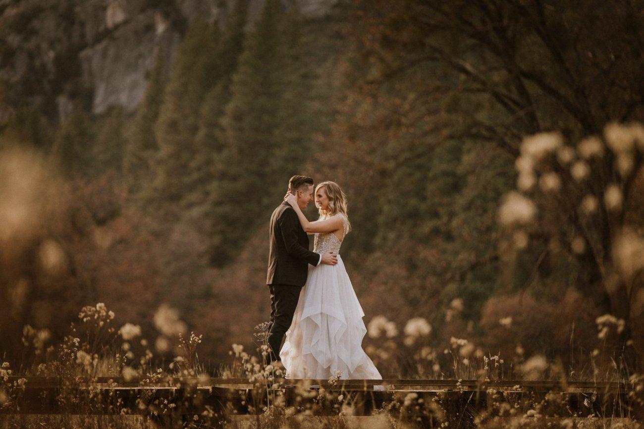 adventurous elopement in Yosemite National Park