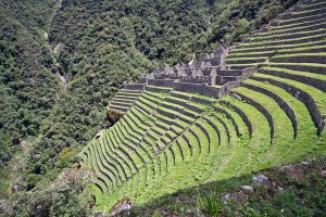 Winay Wayna Ruins on the 5 Day Inca Trail Trek