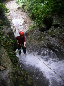 Canyoning at Selva Bananito, where it all started!