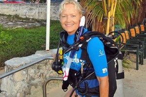Kathy won the 4-day Galapagos Cruise on the Anahi.