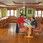 Monjo Lodge - Dining
