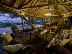Lounge at Kwetsani Camp