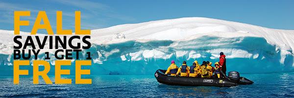 Antarctica Sale BOGO buy 1 get 1 free