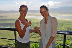 Rim of Ngorongoro Crater
