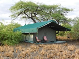 Standard tent at Halisi Natron