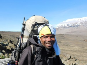 Rashid - having a good guide on Kilimanjaro is a must