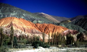 Seven Colored Hills in Humahuaca, Jujuy