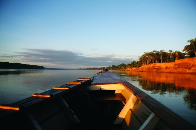 Arrival in the Amazon