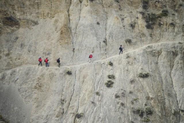 Approaching Sillon del Inca
