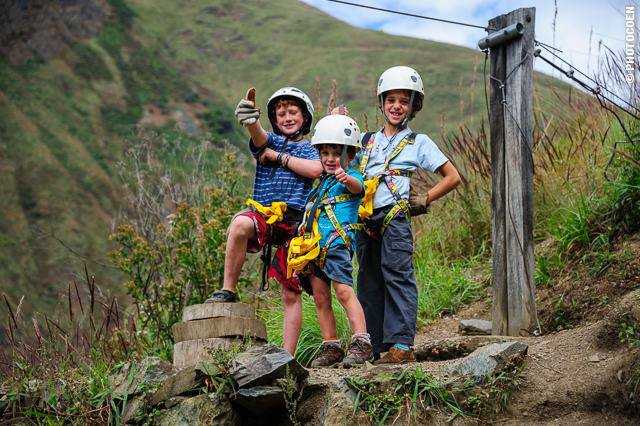 Peru Family Zipline