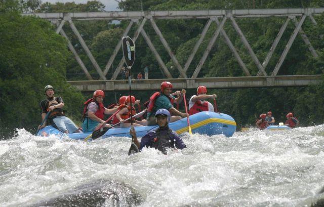 Rafting in Costa Rica