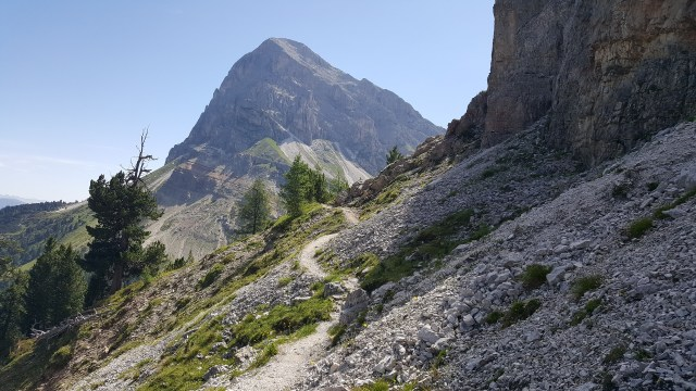 Trails in the Dolomites