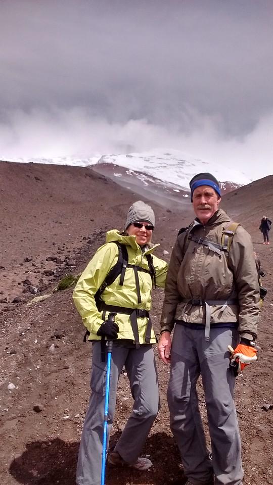 Exploring volcanoes in Ecuador