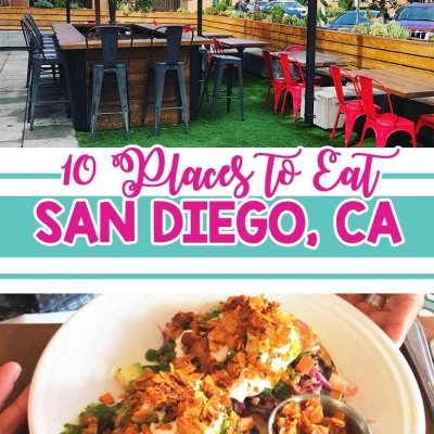 10 Places to Eat in San Diego, CA