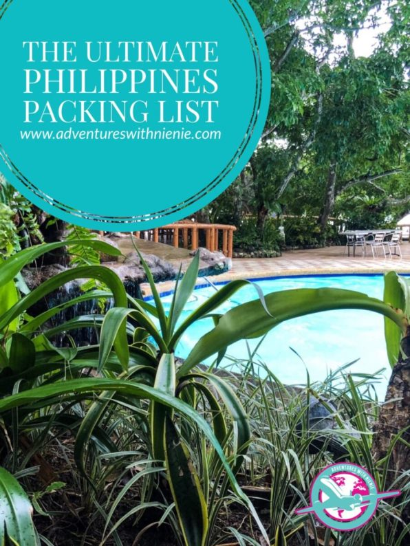 Philippines Packing List Pinterest Cover