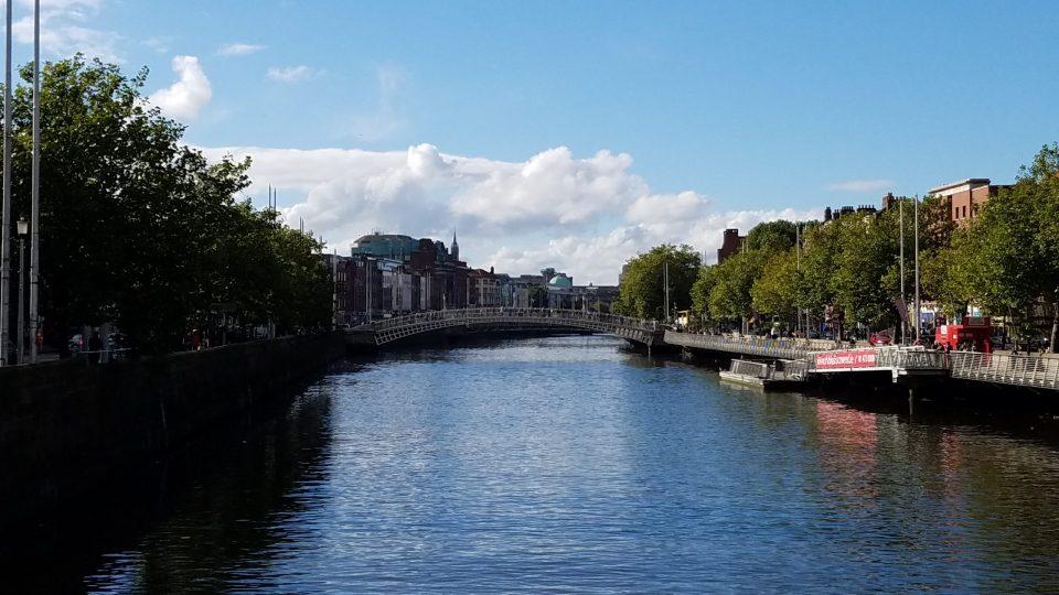 Ha'Penny Bridge in Dublin | Adventures with Shelby