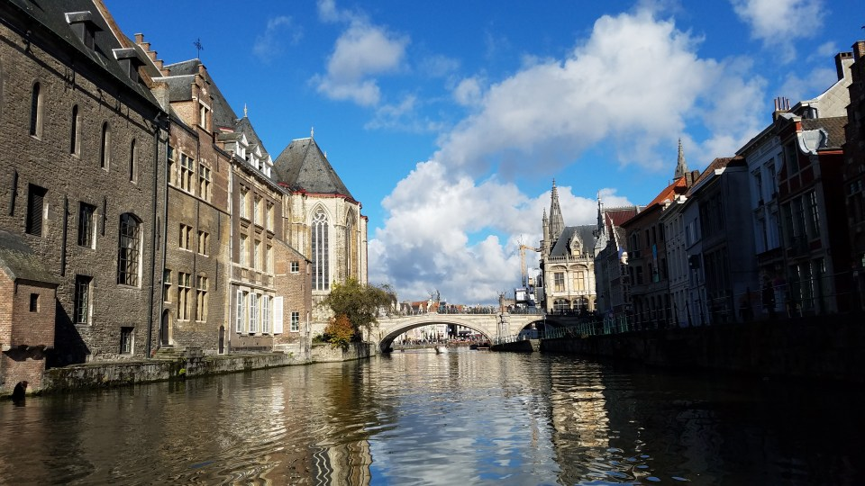 Leie River | Ghent, Belgium | Adventures with Shelby