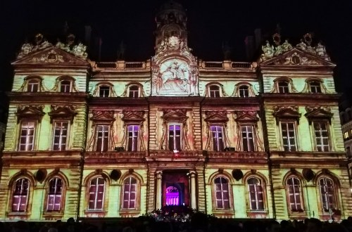 Fete des Lumieres in Lyon, France | Adventures with Shelby