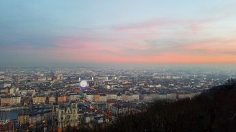 View from Fourvière Hill, Lyon, France | Adventures with Shelby