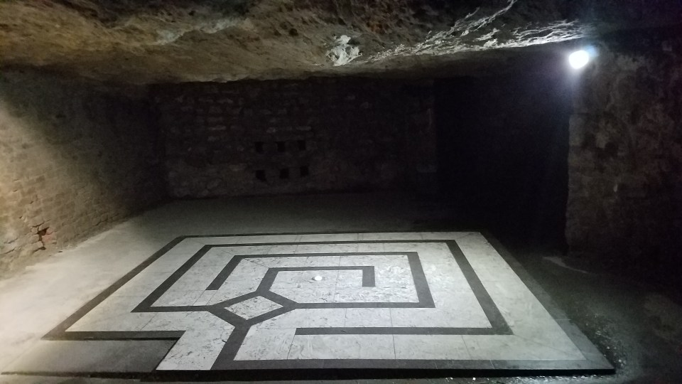 The Labyrinth at Castle Hill, Budapest | Adventures with Shelby