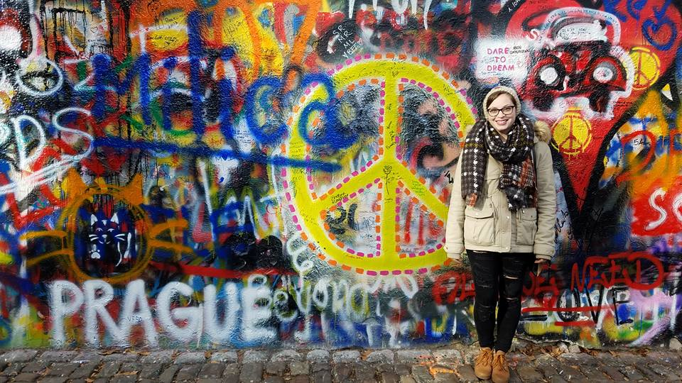 John Lennon Wall   Adventures with Shelby