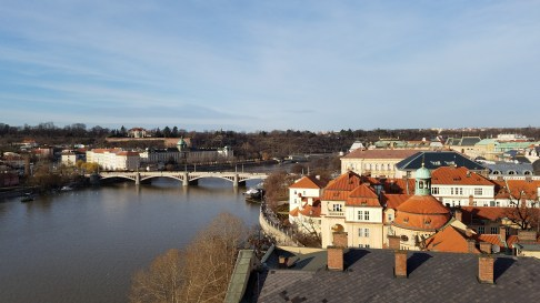 View from Old Town Bridge Tower   Charles Bridge, Prague   Adventures with Shelby