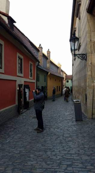 Golden Lane, Prague   Adventures with Shelby