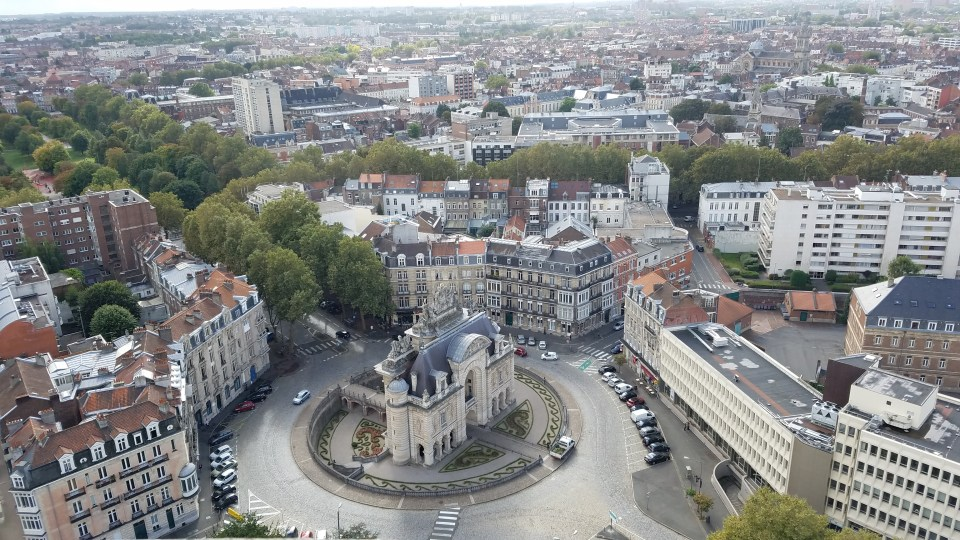 View from Hôtel de Ville Beffroi | Adventures with Shelby