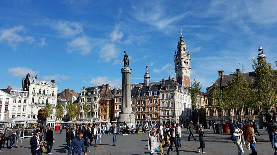 Grand Place   Lille, France   Adventures with Shelby