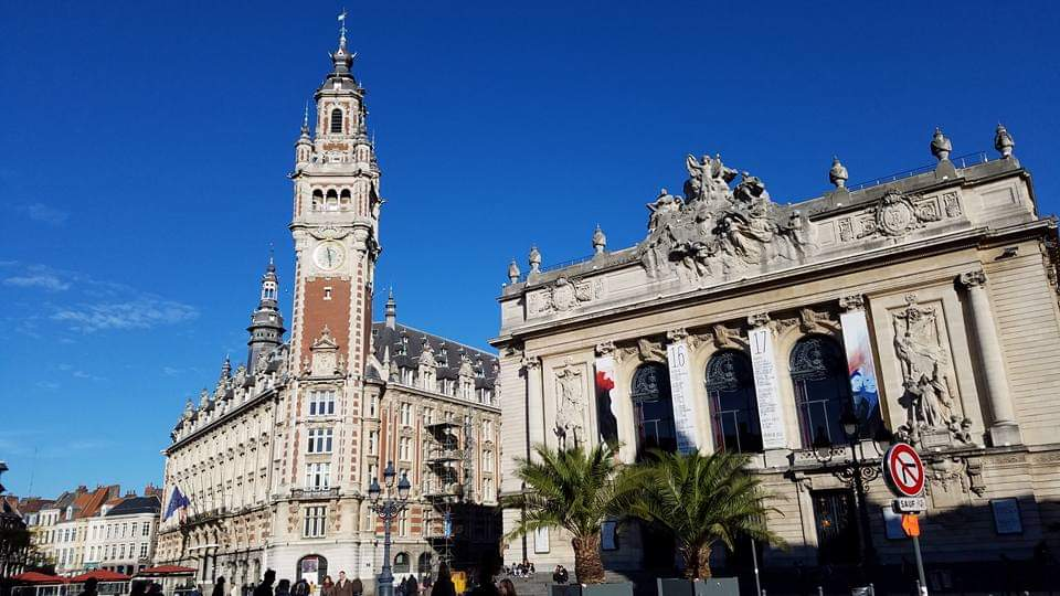 Place du Theatre | Lille, France | Adventures with Shelby