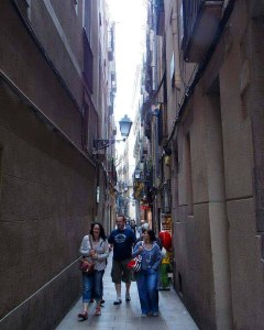 Gothic Quarter Barcelona - Adventures with Shelby