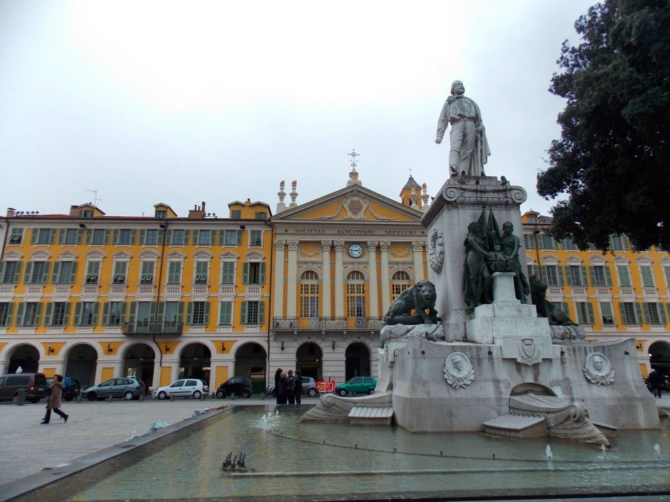 Place Garibaldi, Nice, France - Adventures with Shelby