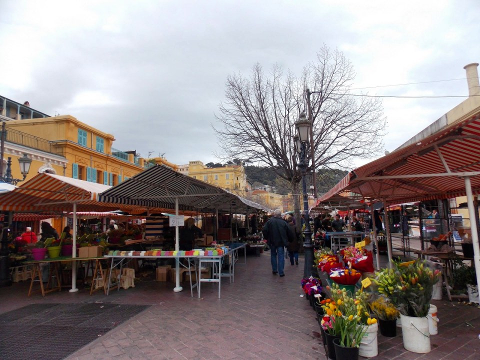 Cours Saleya, Nice, France - Adventures with Shelby