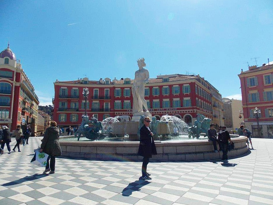 Place Massena, Nice, France - Adventures with Shelby