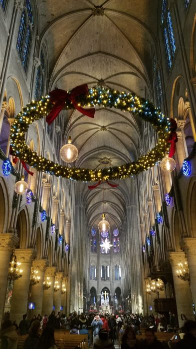 Notre Dame | Paris at Christmas Time | Adventures with Shelby