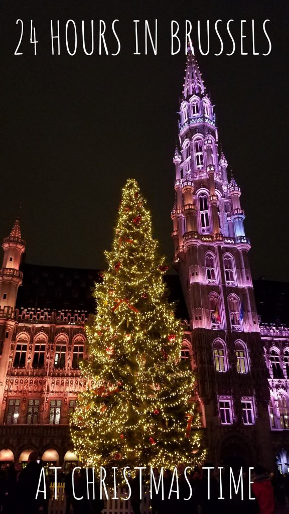 24 Hours in Brussels at Christmas Time | Adventures with Shelby