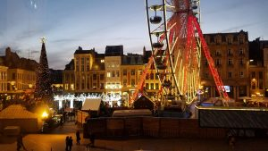 Grand Place at night   Adventures with Shelby
