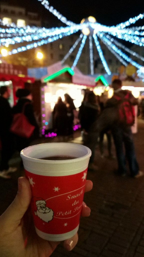 Vin Chaud at the Christmas Market | Adventures with Shelby