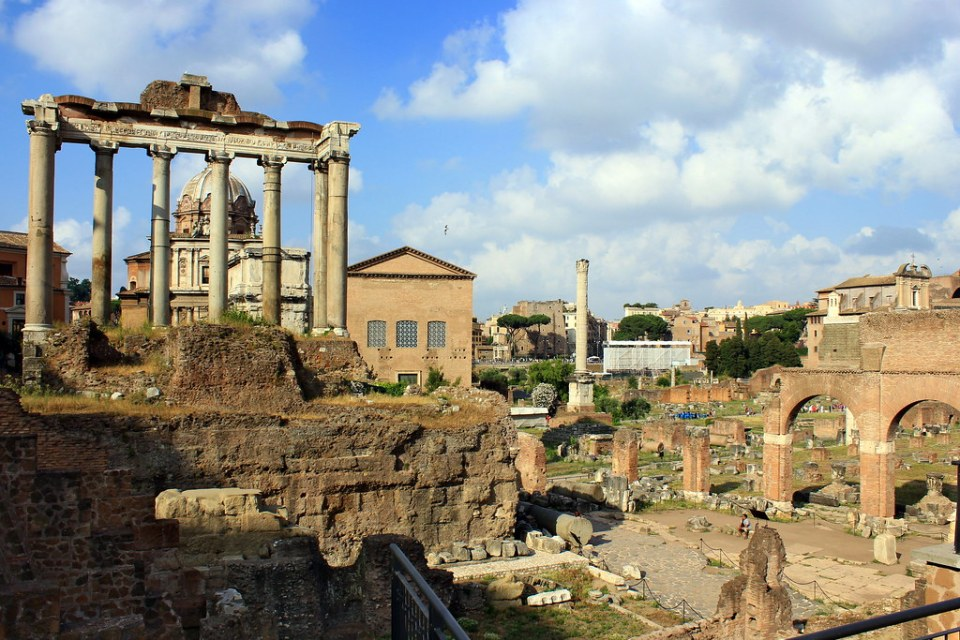 Roman Forum | Adventures with Shelby