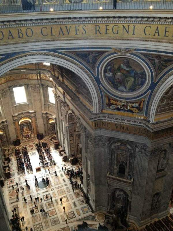 St. Peter's Basilica, Vatican City | Adventures with Shelby
